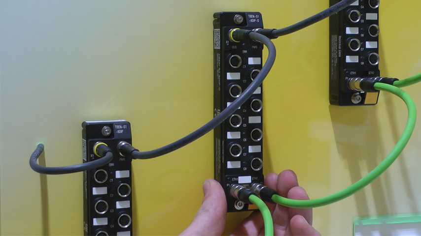Ultra-compact Multiprotcol Block I/O - TBEN-S